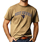 League-Legacy Men's West Virginia Mountaineers Gold All American T-Shirt