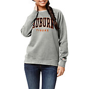 League-Legacy Women's Auburn Tigers Grey Academy Crew Sweatshirt