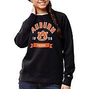 League-Legacy Women's Auburn Tigers Blue Academy Crew Sweatshirt