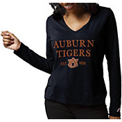 League-Legacy Women's Auburn Tigers Blue ReSpin Long Sleeve T-Shirt