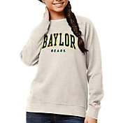League-Legacy Women's Baylor Bears Oatmeal Academy Crew Sweatshirt