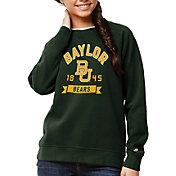 League-Legacy Women's Baylor Bears Green Academy Crew Sweatshirt