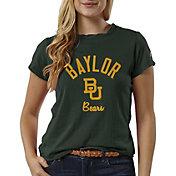 League-Legacy Women's Baylor Bears Green ReSpin T-Shirt
