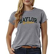 League-Legacy Women's Baylor Bears Grey ReSpin T-Shirt