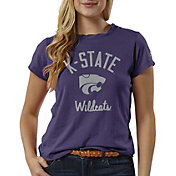 League-Legacy Women's Kansas State Wildcats Purple ReSpin T-Shirt