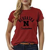 League-Legacy Women's Nebraska Cornhuskers Scarlet ReSpin T-Shirt