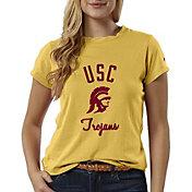 League-Legacy Women's USC Trojans Gold ReSpin T-Shirt