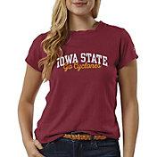 League-Legacy Women's Iowa State Cyclones Cardinal ReSpin T-Shirt