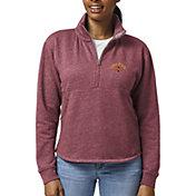 League-Legacy Women's Iowa State Cyclones Cardinal Victory Springs Quarter-Zip Shirt