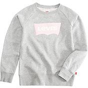 Levi's Girls' Chenille Batwing Sweatshirt