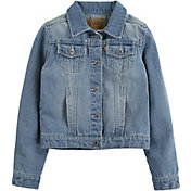 Levi's Girls' Denim Trucker Jacket