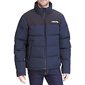 Levi's Men's Arctic Cloth Logo Puffer Jacker