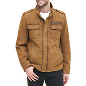 Levi's Men's Washed Cotton Military Jacket
