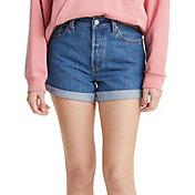 Levi's Women's Premium 501 Long Shorts