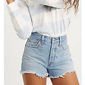 Levi's Women's 501 Original High-Rise Jeans Shorts