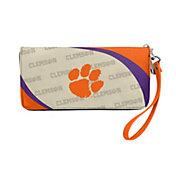 Little Earth Clemson Tigers Zip Organizer Wallet
