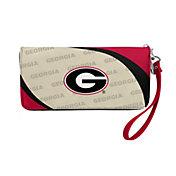 Little Earth Georgia Bulldogs Zip Organizer Wallet