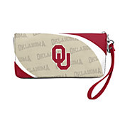 Little Earth Oklahoma Sooners Zip Organizer Wallet