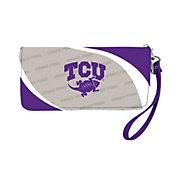 Little Earth TCU Horned Frogs Zip Organizer Wallet