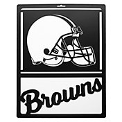 Little Earth Cleveland Browns Metal Team Sign