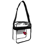 Little Earth Arizona Cardinals Clear Carryall Crossbody