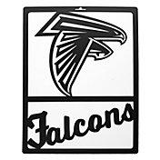 Little Earth Atlanta Falcons Metal Team Sign