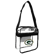 Little Earth Green Bay Packers Clear Carryall Crossbody