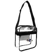 Little Earth Baltimore Ravens Clear Carryall Crossbody