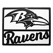 Little Earth Baltimore Ravens Metal Team Sign