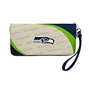 Little Earth Seattle Seahawks Zip Organizer Wallet