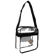 Little Earth New Orleans Saints Clear Carryall Crossbody