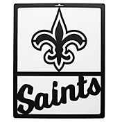 Little Earth New Orleans Saints Metal Team Sign