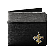 Little Earth New Orleans Saints Pebble Bi-fold Wallet
