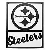 Little Earth Pittsburgh Steelers Metal Team Sign