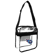 Little Earth Tennessee Titans Clear Carryall Crossbody