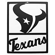 Little Earth Houston Texans Metal Team Sign