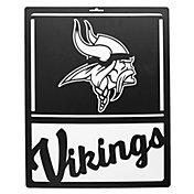 Little Earth Minnesota Vikings Metal Team Sign