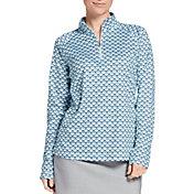 Lady Hagen Women's Print ¼-Zip Golf Pullover