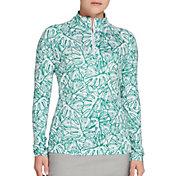 Lady Hagen Women's Solid UV 1/4 Zip Golf Pullover