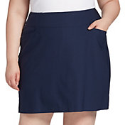 Lady Hagen Women's Solid Core Golf Skort – Extended Sizes