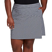 Lady Hagen Women's USA Plaid Print Golf Skort – Extended Sizes