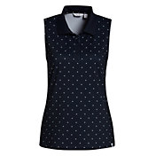 Lady Hagen Women's Star Sleeveless Golf Polo