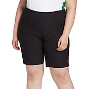 "Lady Hagen Women's 10"" Golf Shorts – Extended Sizes"