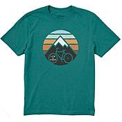 Life is Good Men's Mountain Bike Crusher T-Shirt
