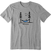 Life is Good Men's Peace Out Crusher T-Shirt