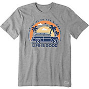 Life is Good Men's Take Me To The Ocean Vehicle Crusher T-Shirt
