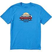 Life is Good Men's Van Go Crusher T-Shirt
