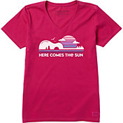 Life is Good Women's Here Comes The Sun Crusher T-Shirt