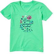 Life is Good Women's Wonders Of Nature Crusher T-Shirt