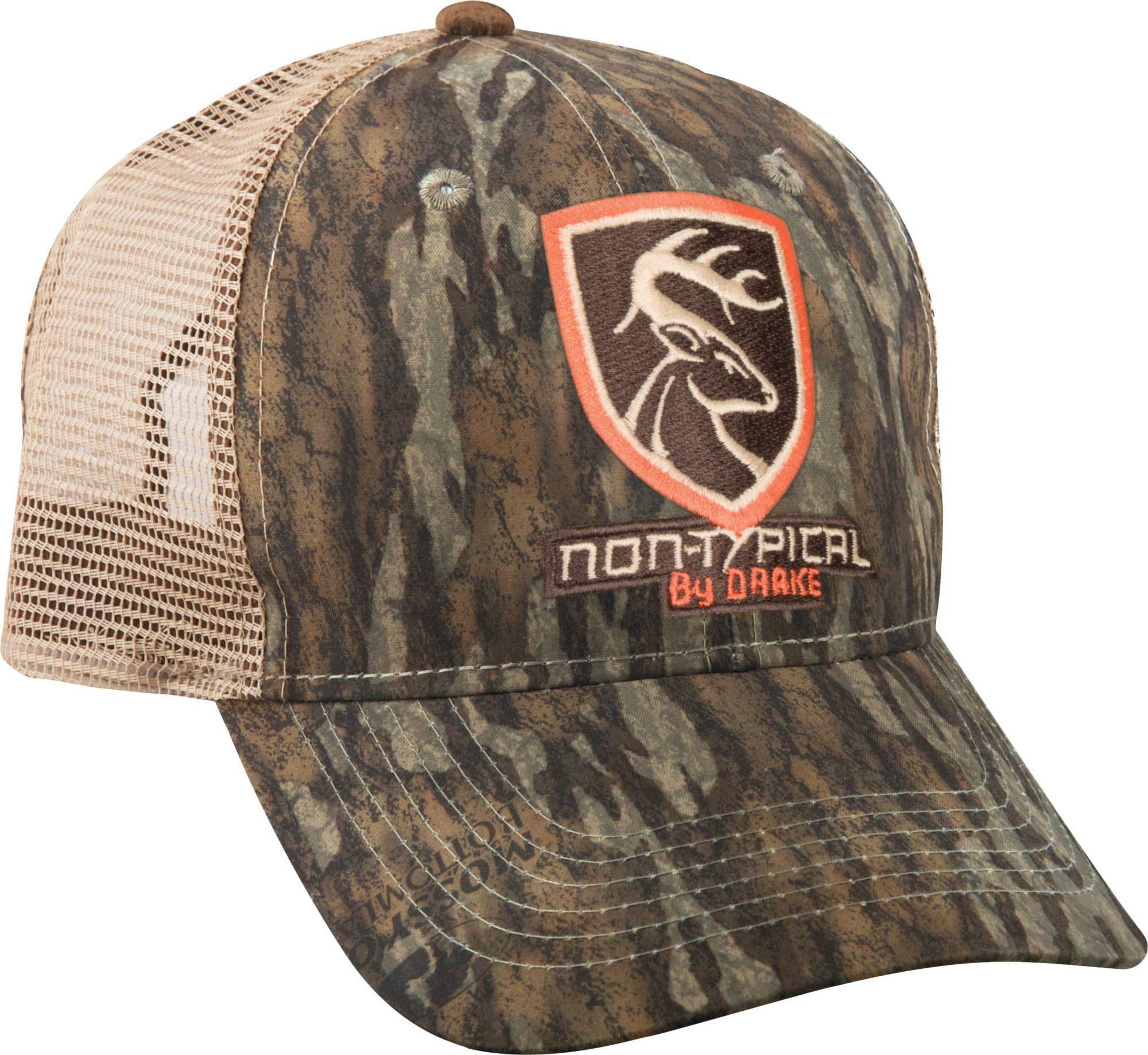 Drake Waterfowl Men's Mesh Back Hat, Mo Bottomland
